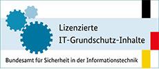 Wir sind lizenzierter Hersteller vom IT-Grundschutz-Tool
